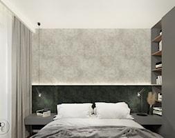 Projekt wnętrza sypialni w ziemistych barwach - Warszawa - zdjęcie od BOHE Architektura - Homebook