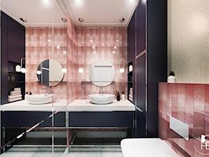 Projekt toalety w Białymstoku z wykorzystaniem płytek od equipe ceramicas