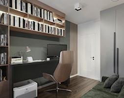 Projekt domowego gabinetu - Warszawa - zdjęcie od BOHE Architektura - Homebook