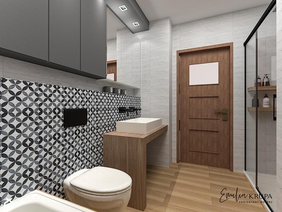 Łazienka / wzory - zdjęcie od Emilia Krupa Projektant Wnetrz