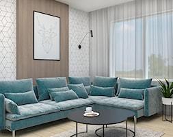 Salon+%2F+strefa+wypoczynku+-+zdj%C4%99cie+od+Emilia+Krupa+Projektant+Wnetrz