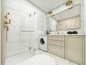 Łazienka modern classic - zdjęcie od Emilia Krupa Projektant Wnetrz