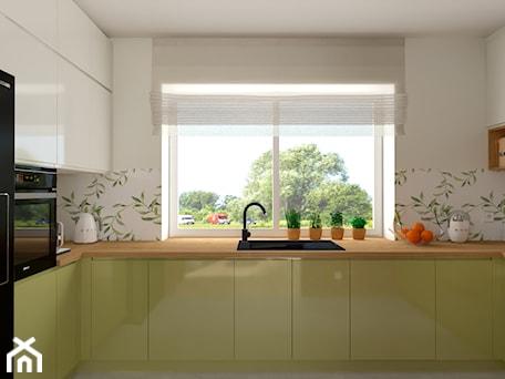 Aranżacje wnętrz - Kuchnia: Wnętrze w kolorach natury - dekoton. Przeglądaj, dodawaj i zapisuj najlepsze zdjęcia, pomysły i inspiracje designerskie. W bazie mamy już prawie milion fotografii!
