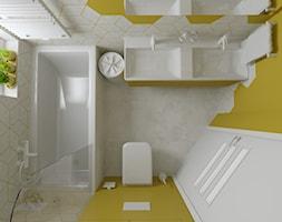 Trzy kolory łazienki - Żółta - zdjęcie od dekoton - Homebook