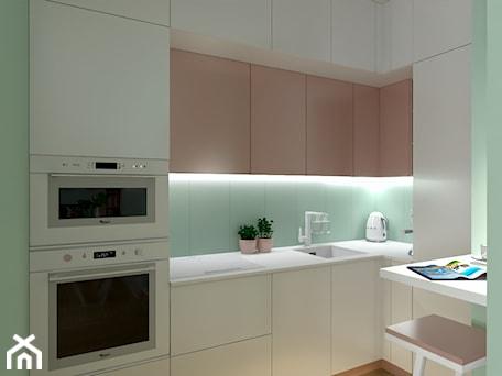 Aranżacje wnętrz - Kuchnia: Lady in pink - dekoton. Przeglądaj, dodawaj i zapisuj najlepsze zdjęcia, pomysły i inspiracje designerskie. W bazie mamy już prawie milion fotografii!