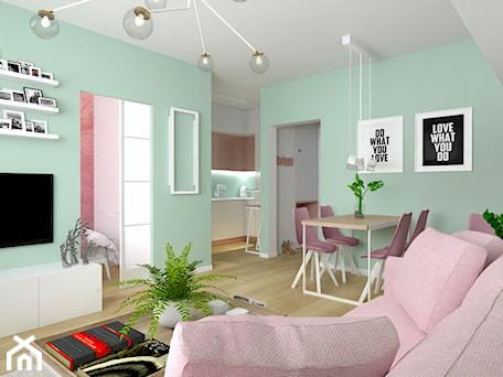 Aranżacje wnętrz - Salon: Lady in pink - dekoton. Przeglądaj, dodawaj i zapisuj najlepsze zdjęcia, pomysły i inspiracje designerskie. W bazie mamy już prawie milion fotografii!