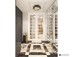 Elegancki hall - zdjęcie od Ludwinowska Studio Architektury