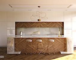 kuchnia%2C+art+deco%2C+nowoczesna%2C+przytulna+-+zdj%C4%99cie+od+Ludwinowska+Studio+Architektury