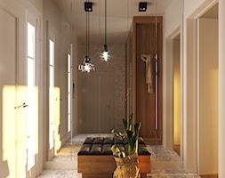 GEISHA - Średni biały hol / przedpokój, styl nowoczesny - zdjęcie od Ludwinowska Studio Architektury