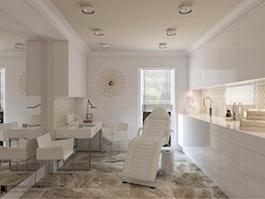 DR BEAUTY - Biuro, styl minimalistyczny - zdjęcie od Ludwinowska Studio Architektury