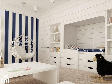 Aranżacje wnętrz - Pokój dziecka: Pokój dziecka w stylu marines - Ludwinowska Studio Architektury. Przeglądaj, dodawaj i zapisuj najlepsze zdjęcia, pomysły i inspiracje designerskie. W bazie mamy już prawie milion fotografii!
