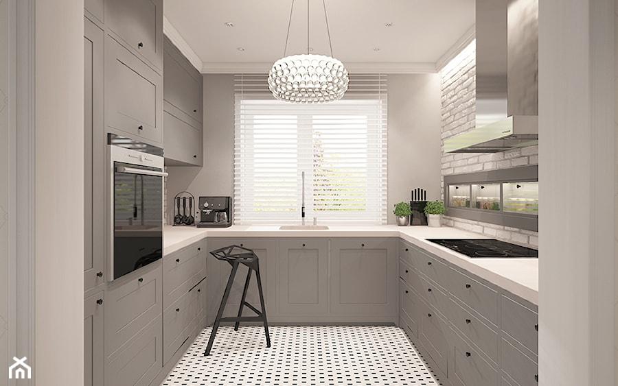 Modern Hampton  zdjęcie od Ludwinowska Studio Architektury -> Kuchnia New Hampton