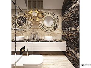 Toaleta gościnna - zdjęcie od Ludwinowska Studio Architektury