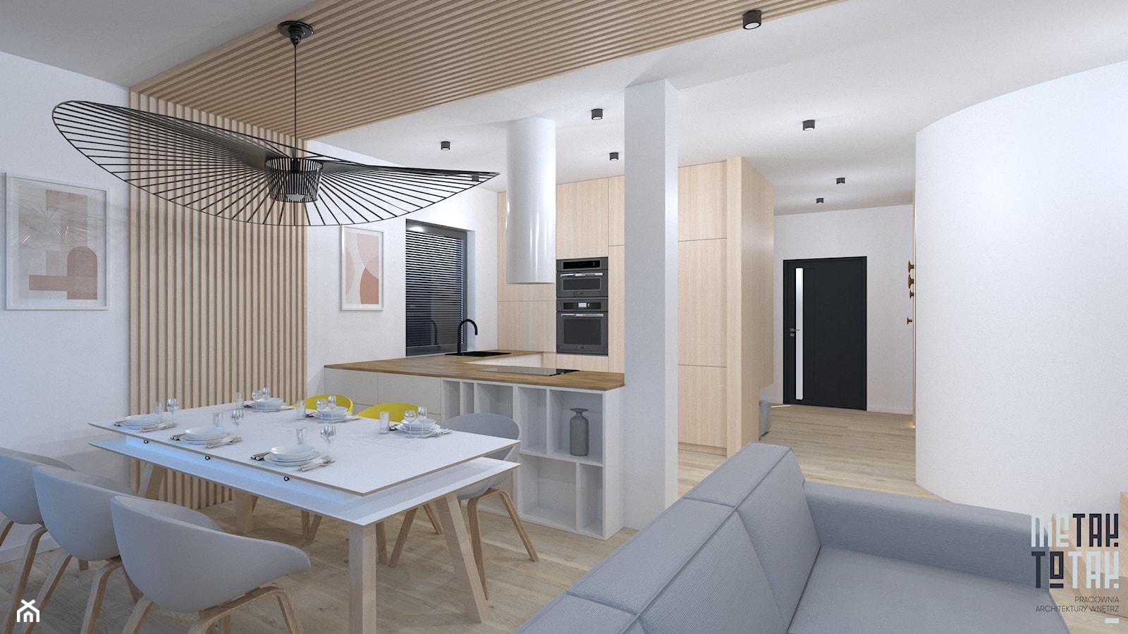 Projekt domu jednorodzinnego w Rudzie Sląskiej - Kuchnia, styl nowoczesny - zdjęcie od NIE TAK TO TAK Pracownia Architektury Wnętrz - Homebook