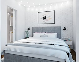 apartament w Warszawie - Sypialnia, styl skandynawski - zdjęcie od Twój Kwadrat - Homebook