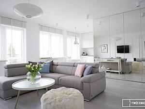 Inspiracja jest kobietą - mieszkanie 75m2 w Warszawie