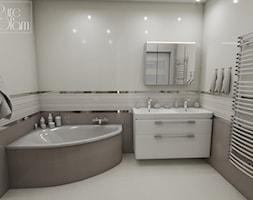 Łazienka z wanną narożną - zdjęcie od PureAndGlam - Homebook