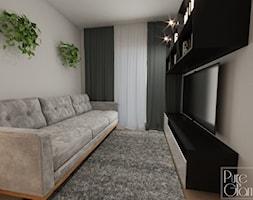 Pokój telewizyjny - zdjęcie od PureAndGlam - Homebook