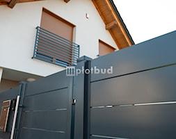 Ogrodzenie+palisadowe+aluminiowe+horyzontalne+-+zdj%C4%99cie+od+PLOTBUD+Ogrodzenia