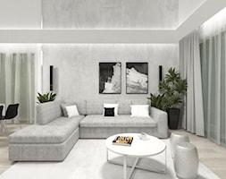 Projekt domu 2 - Salon - zdjęcie od MalgorztaLen - Homebook