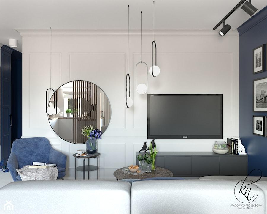 projekt salonu - zdjęcie od PRACOWNIA PROJEKTOWA KATARZYNA NIEMIEC