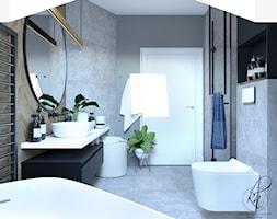 projekt łazienki - zdjęcie od PRACOWNIA PROJEKTOWA KATARZYNA NIEMIEC - Homebook
