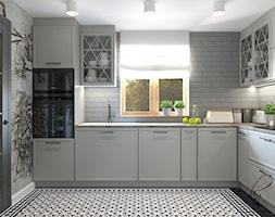 projekt kuchni - zdjęcie od PRACOWNIA PROJEKTOWA KATARZYNA NIEMIEC - Homebook