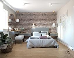 projekt sypialni - zdjęcie od PRACOWNIA PROJEKTOWA KATARZYNA NIEMIEC - Homebook