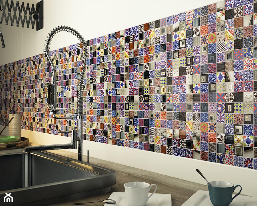 Mozaika cienna zdj cie od fhu planeta dom - Credence autocollante castorama ...