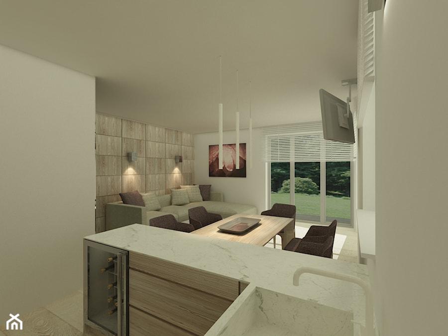 Mieszkanie w Parzniewie - Kuchnia, styl nowoczesny - zdjęcie od Katarzyna Jaskulska Projektowanie Wnętrz