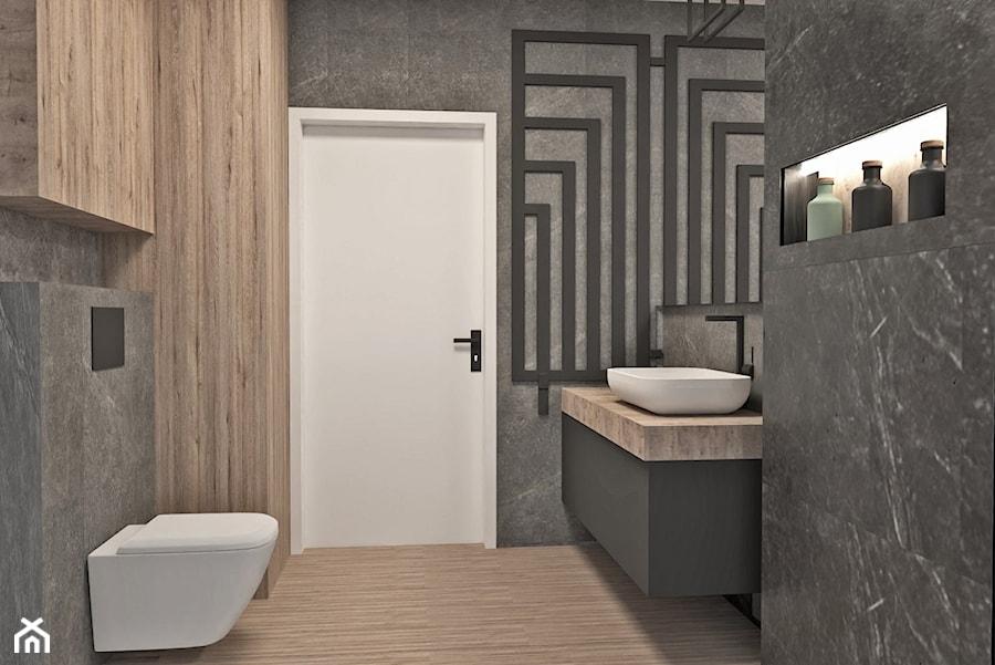 mała łazienka - zdjęcie od AN Koncept Anita Niziałek