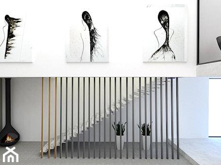 Aranżacje wnętrz - Schody: minimalistyczne schody - AN Koncept Anita Niziałek. Przeglądaj, dodawaj i zapisuj najlepsze zdjęcia, pomysły i inspiracje designerskie. W bazie mamy już prawie milion fotografii!