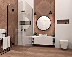 Łazienka w symetrii - zdjęcie od AN Koncept Anita Niziałek - Homebook