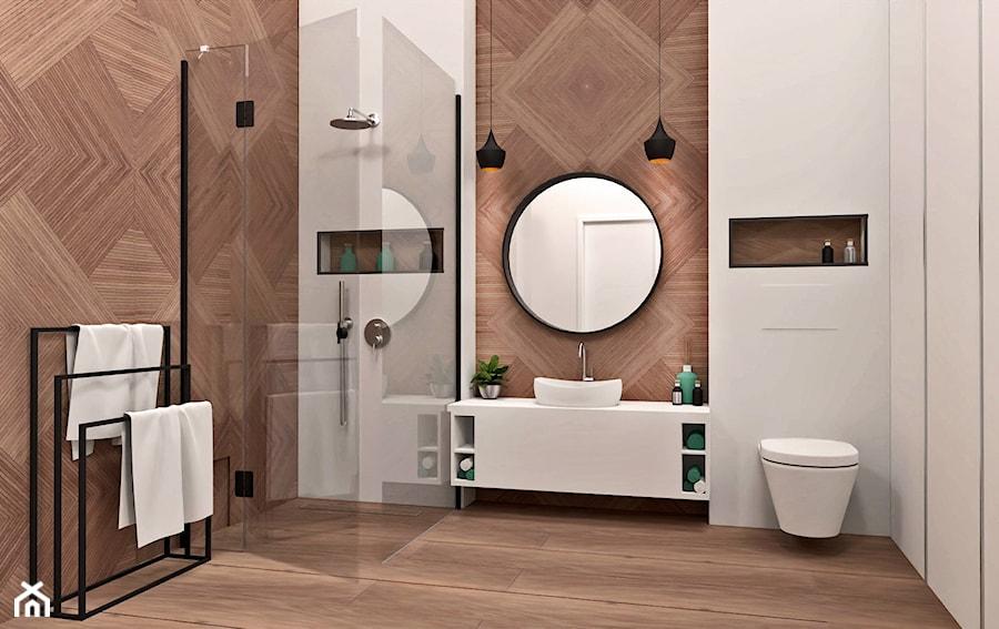Łazienka w symetrii - zdjęcie od AN Koncept Anita Niziałek
