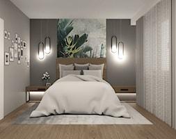 Sypialnia z motywem tapety - zdjęcie od AN Koncept Anita Niziałek - Homebook