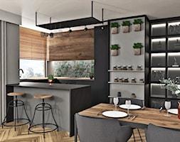 Kuchnia otwarta na salon - zdjęcie od AN Koncept Anita Niziałek - Homebook