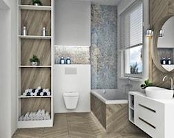 Jodełka w łazience - zdjęcie od AN Koncept Anita Niziałek - Homebook