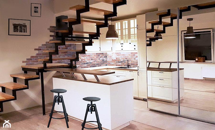 Aneks kuchenny pod schodami - zdjęcie od AN Koncept Anita Niziałek