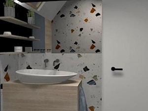 Wizualizacje małej łazienki