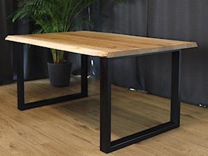 Stół z  krawędzią life-edge