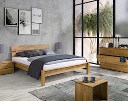Łózko dębowe Solid Style oraz kolekcja Sando - zdjęcie od Soolido - Homebook