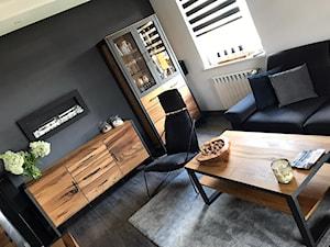 Salon z meblami Loftowymi