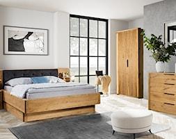 Dębowa sypialnia Orio - zdjęcie od Soolido - Homebook