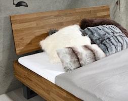 Dębowe łóżko Fado z zagłówkiem Classic - zdjęcie od Soolido - Homebook