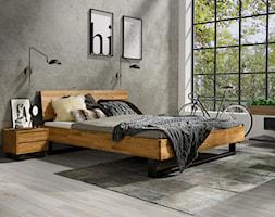 Dębowa sypialnia Fado w stylu industrialnym - zdjęcie od Soolido - Homebook