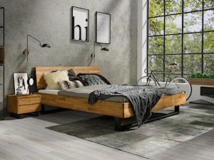 Meble do sypialni w stylu industrialnym