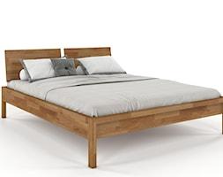 Łózko Monza Modern. Dębowe łoże do sypialni - zdjęcie od Soolido - Homebook