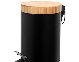 Kosz na śmieci 3 L z bambusową pokrywą - zdjęcie od shoperly - Homebook