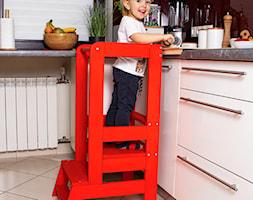 Kitchen helper czerwony pomocnik kuchenny - zdjęcie od shoperly - Homebook