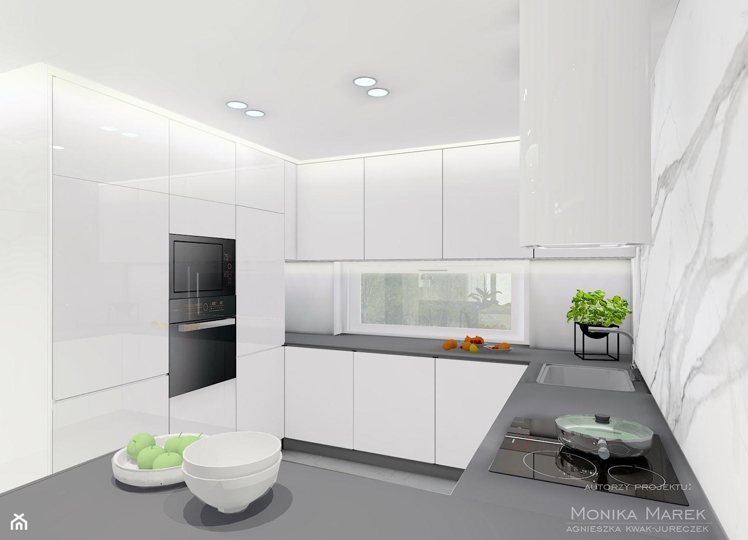 DOM RUDA ŚLĄSKA # 1 - Kuchnia, styl nowoczesny - zdjęcie od MARKOWNIA studio architektury - Homebook